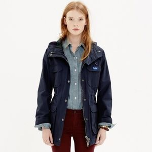 Madewell x Penfield Kasson Parka Jacket in Navy